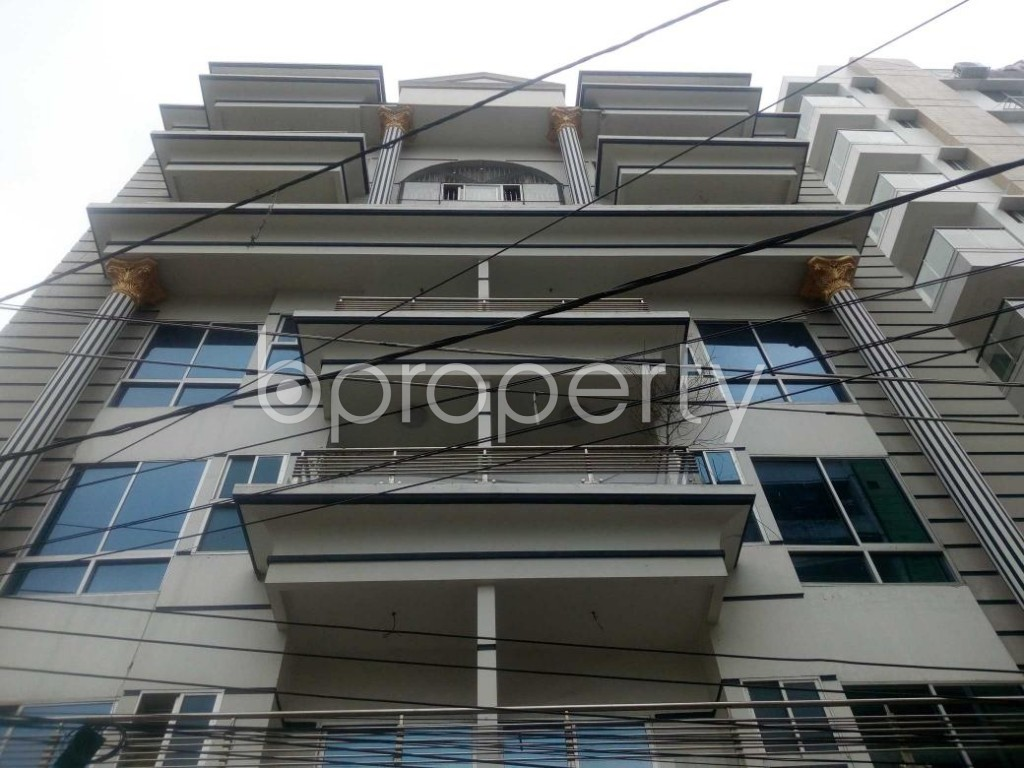 Front view - Office to Rent in Aftab Nagar, Dhaka - 1909550