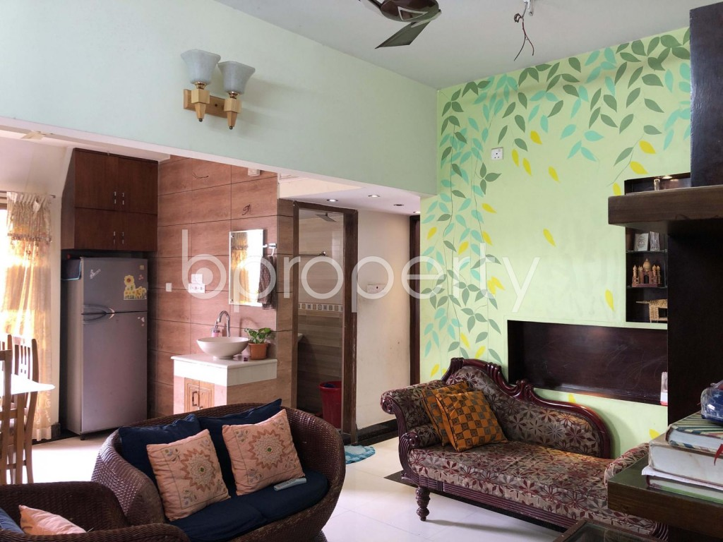 Empty Room - 3 Bed Apartment for Sale in Lalmatia, Dhaka - 1907589