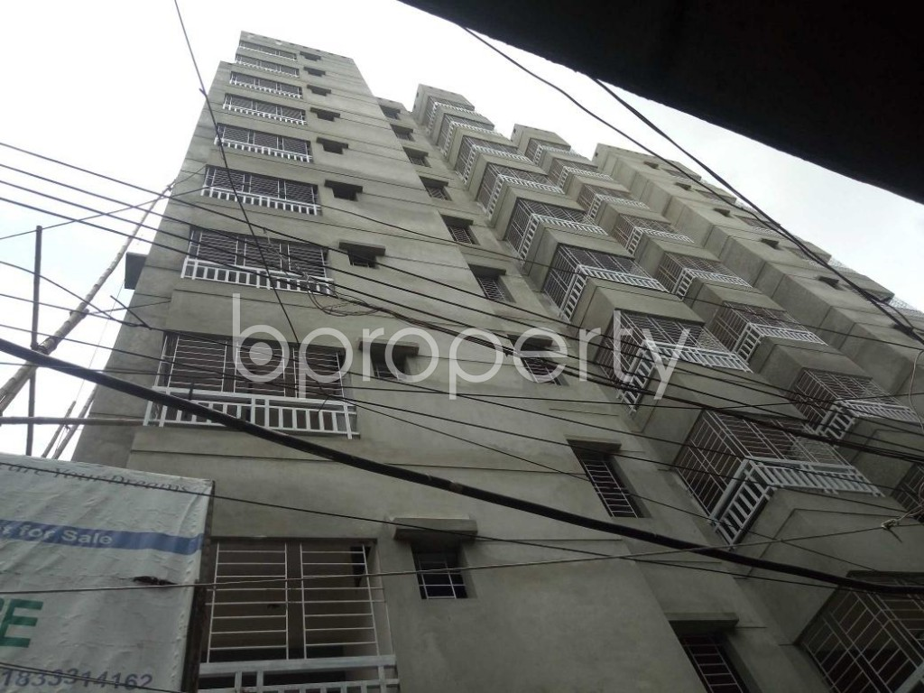 Front view - 3 Bed Apartment for Sale in Dhanmondi, Dhaka - 1909587