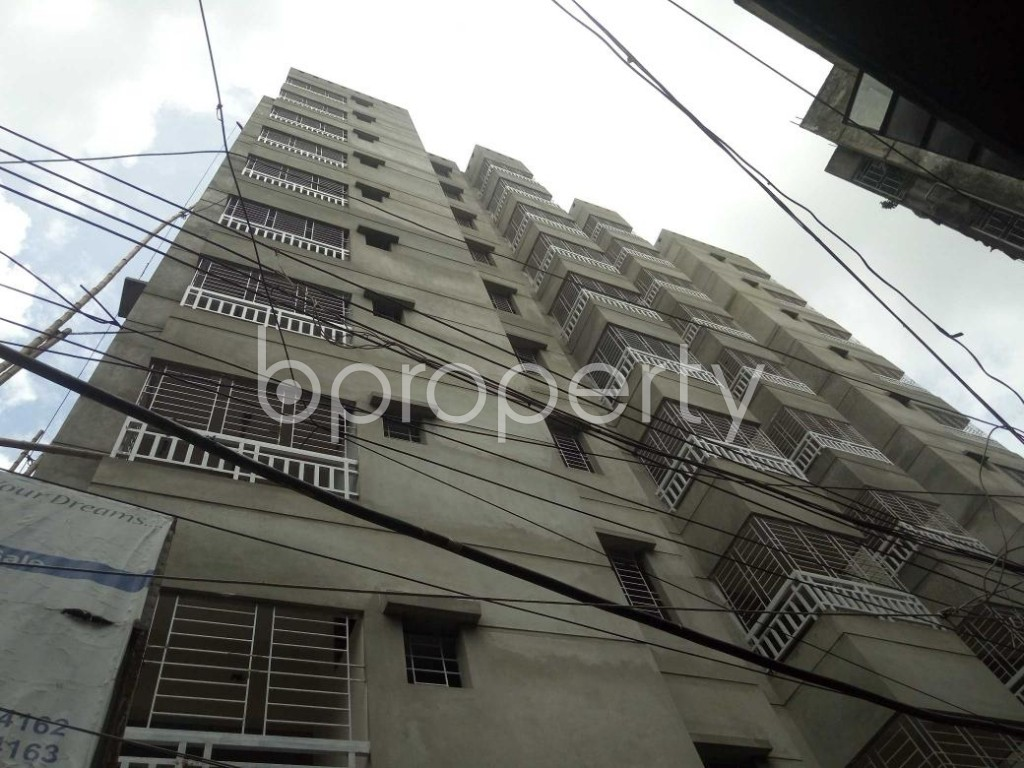 Front view - 3 Bed Apartment for Sale in Dhanmondi, Dhaka - 1909595