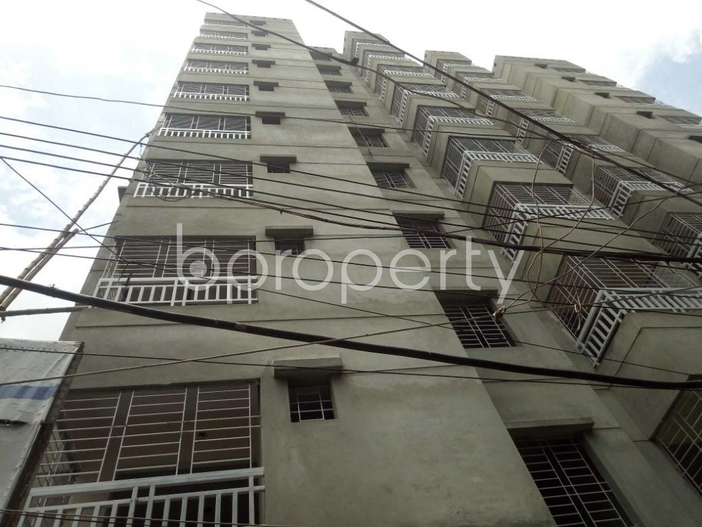 Front view - 3 Bed Apartment for Sale in Dhanmondi, Dhaka - 1909599