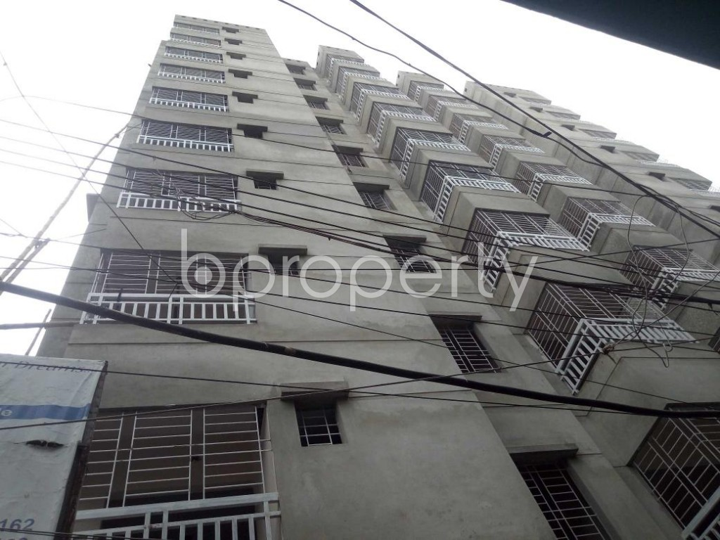 Front view - 3 Bed Apartment for Sale in Dhanmondi, Dhaka - 1909612