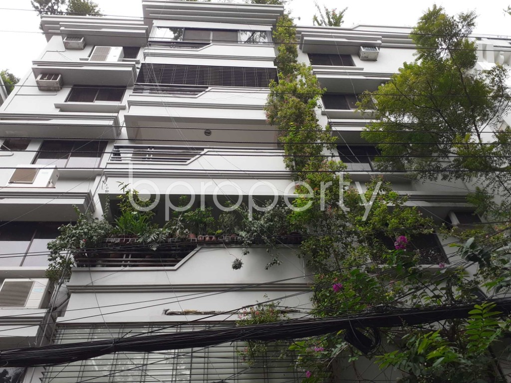 Front view - 3 Bed Apartment to Rent in Gulshan, Dhaka - 1909645