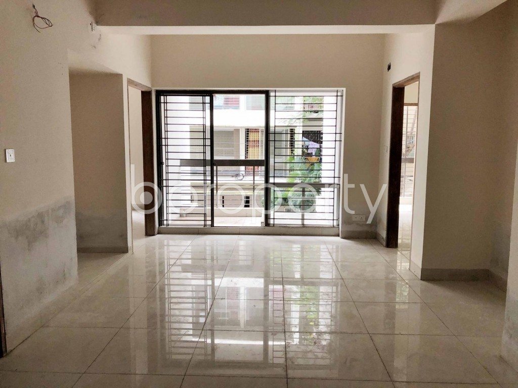 Dining area - 3 Bed Apartment for Sale in Bashundhara R-A, Dhaka - 1899500