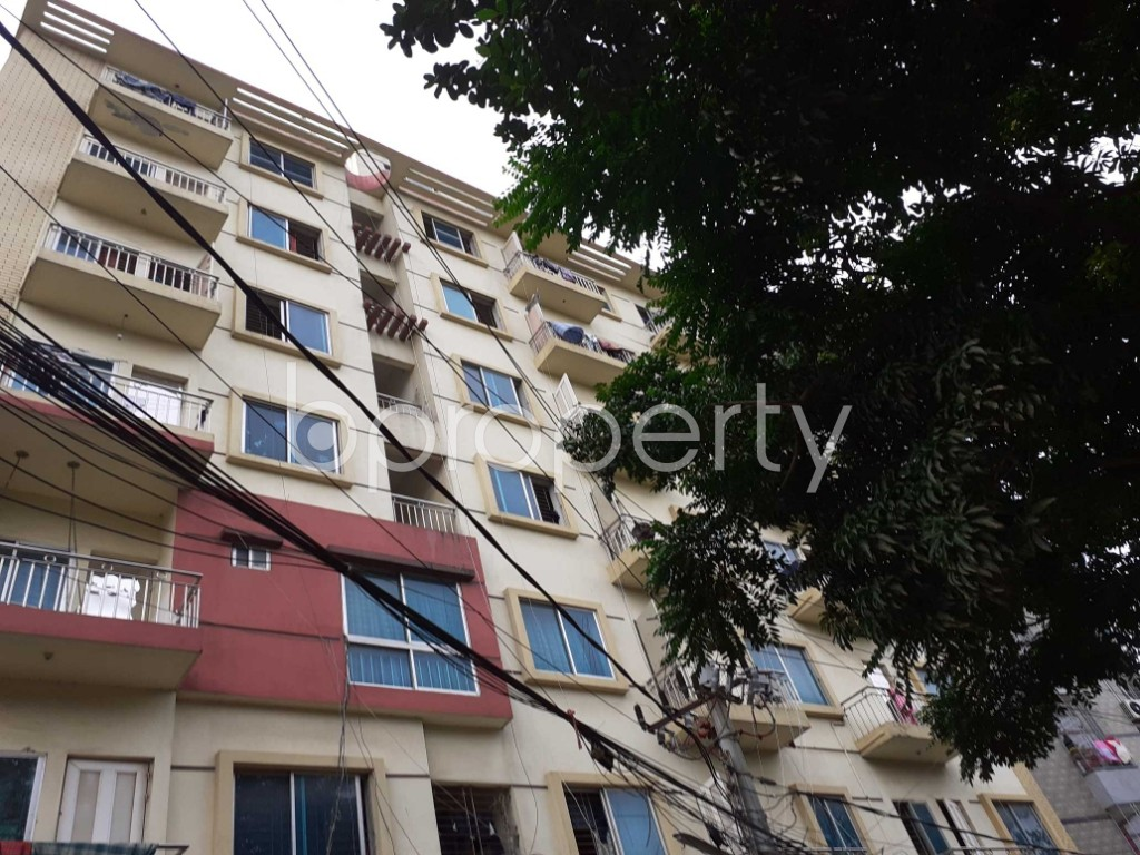 Outside view - 1 Bed Apartment to Rent in Taltola, Dhaka - 1909884