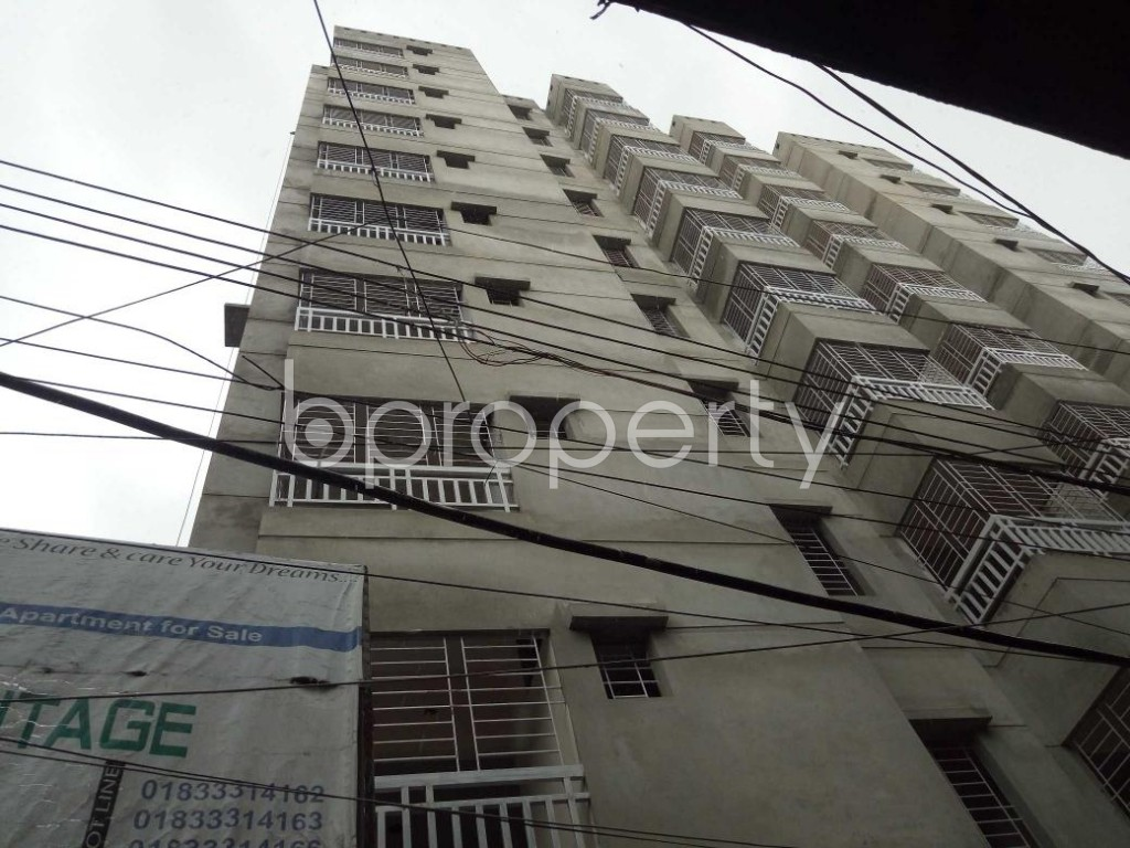 Front view - 3 Bed Apartment for Sale in Dhanmondi, Dhaka - 1910033