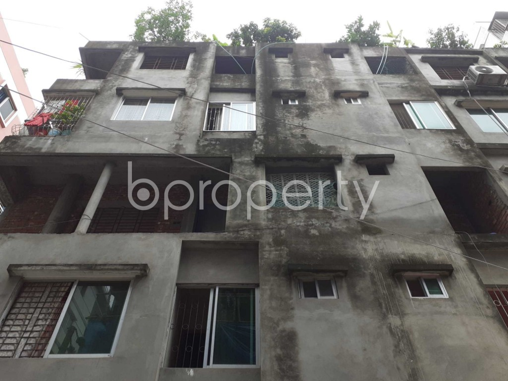 Front view - 3 Bed Apartment for Sale in Mirpur, Dhaka - 1910047