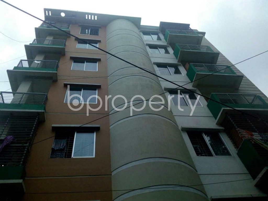 Front view - 3 Bed Apartment for Sale in 9 No. North Pahartali Ward, Chattogram - 1910053