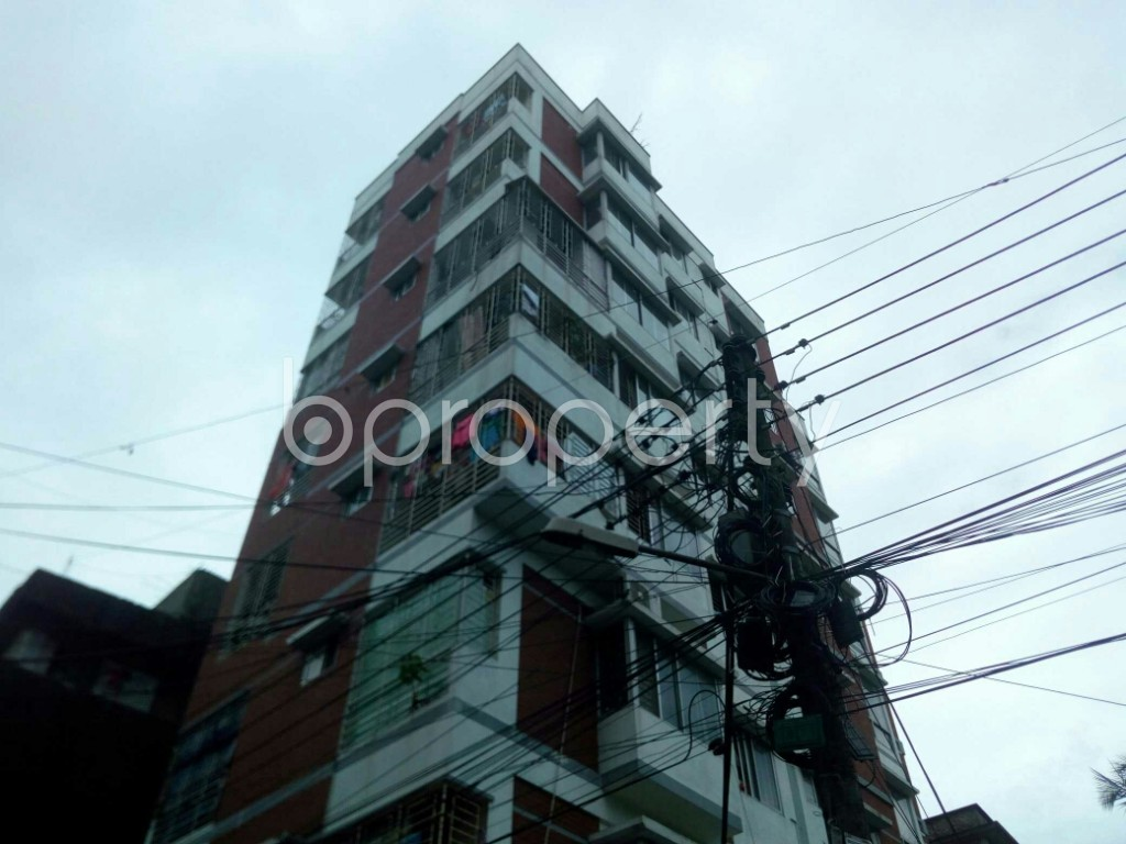 Outside view - 3 Bed Apartment for Sale in East Nasirabad, Chattogram - 1910337