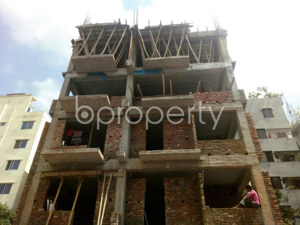 Front view - 4 Bed Apartment for Sale in Uttara, Dhaka - 1910401
