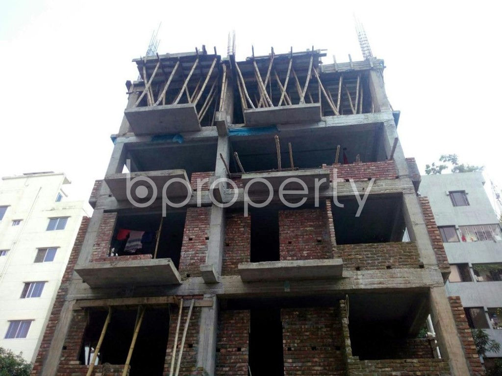 Front view - 4 Bed Apartment for Sale in Uttara, Dhaka - 1910402
