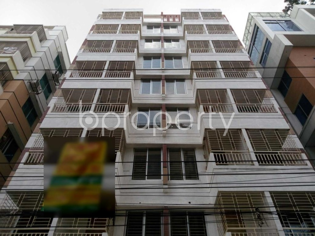 Front view - 3 Bed Apartment for Sale in Aftab Nagar, Dhaka - 1910418