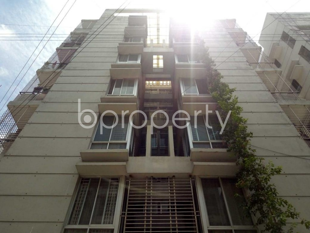 Front view - 3 Bed Apartment for Sale in Uttara, Dhaka - 1910450