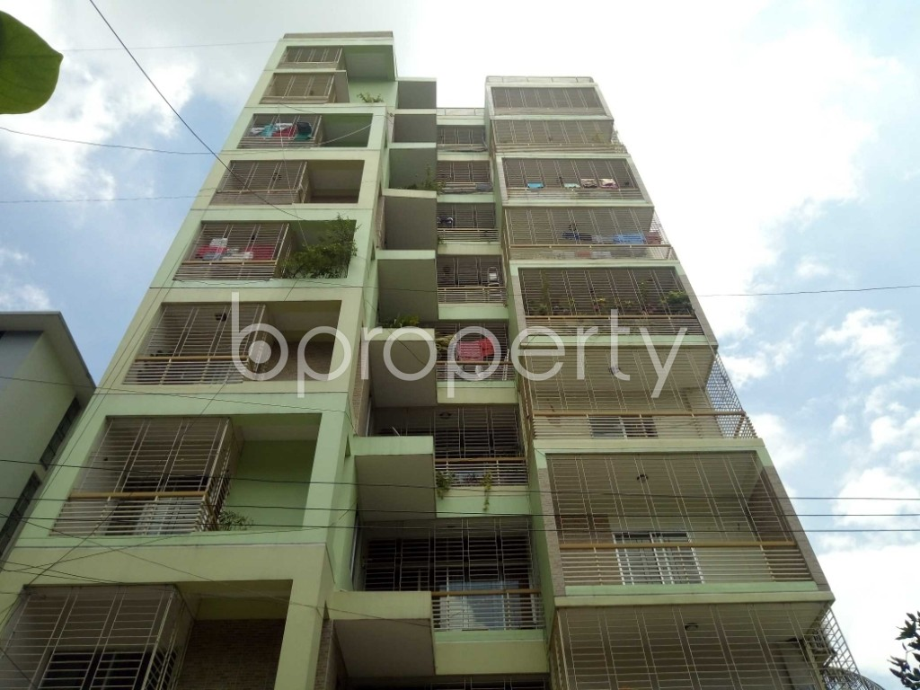 Front view - 4 Bed Apartment for Sale in Uttara, Dhaka - 1910503