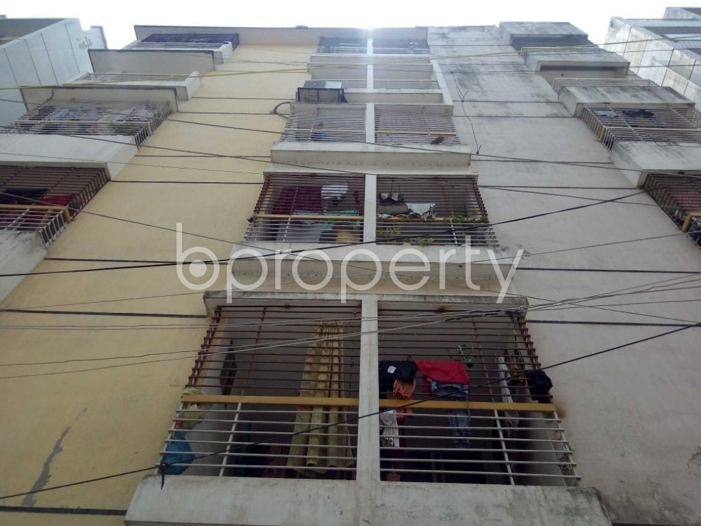 Front view - 4 Bed Apartment for Sale in Uttara, Dhaka - 1910545