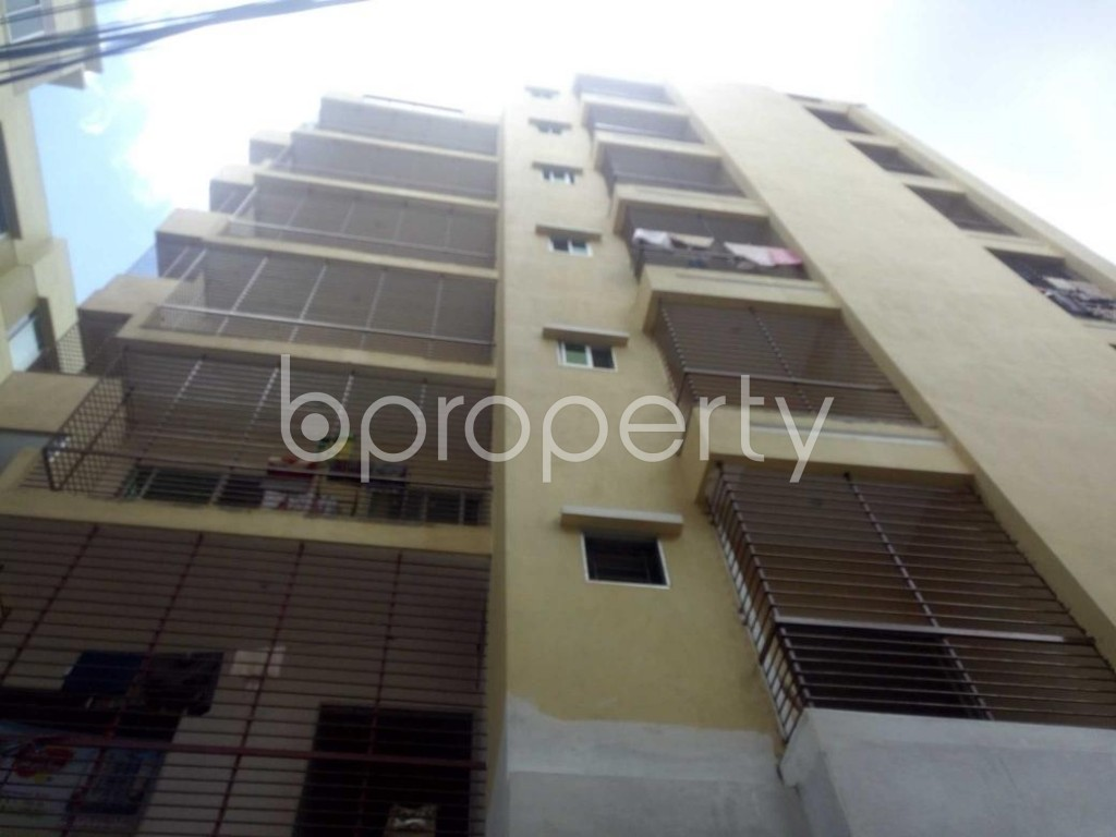 Front view - 3 Bed Apartment for Sale in Bakalia, Chattogram - 1910694