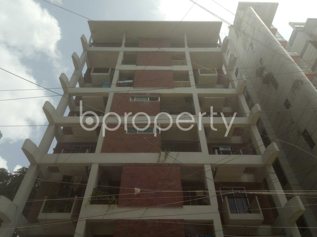 Front view - 3 Bed Apartment for Sale in Mirpur, Dhaka - 1910795