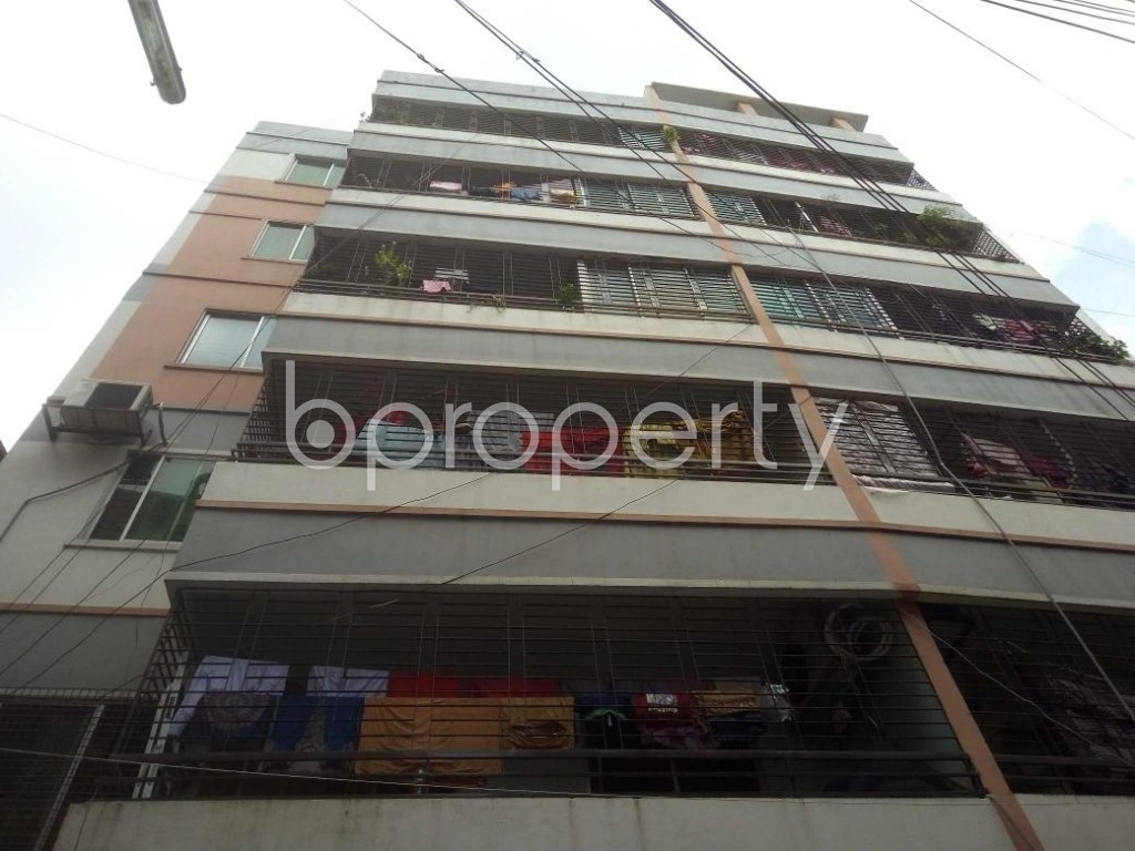 Front view - 3 Bed Apartment for Sale in Mirpur, Dhaka - 1910837