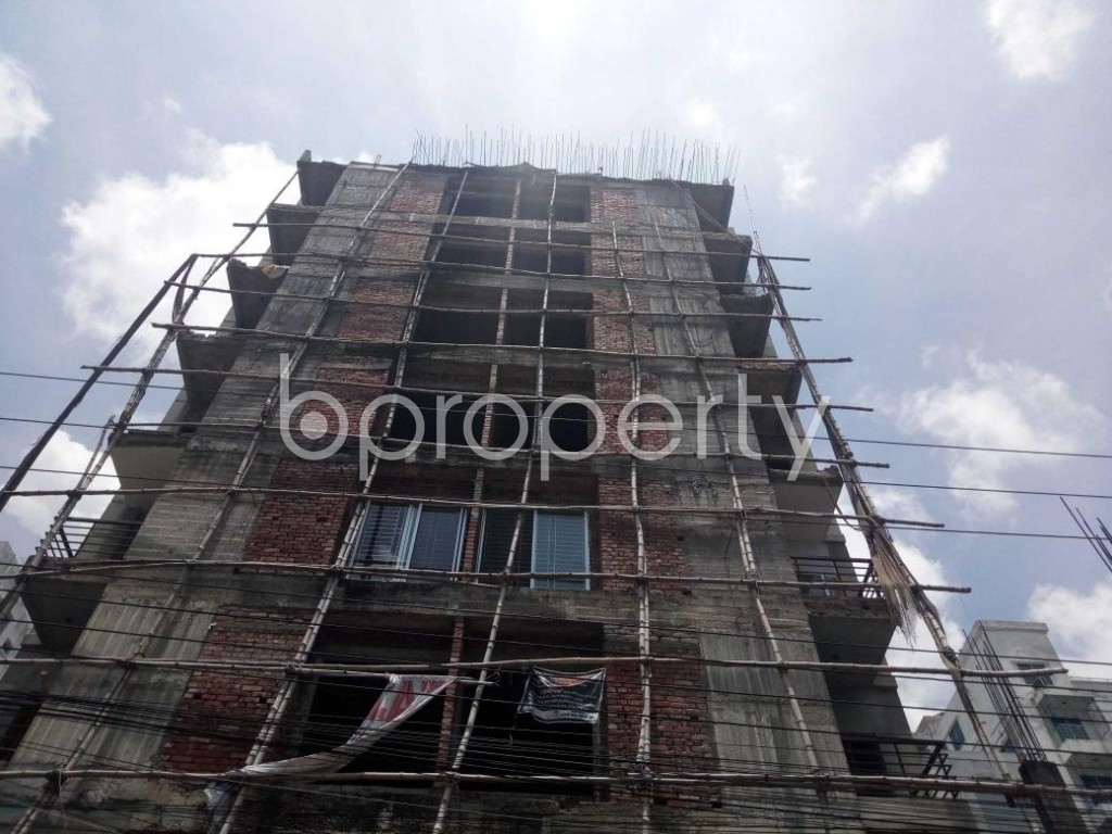 Front view - 3 Bed Apartment for Sale in Uttara, Dhaka - 1910842