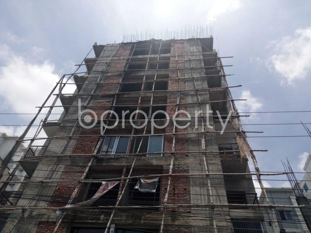 Front view - 3 Bed Apartment for Sale in Uttara, Dhaka - 1910845