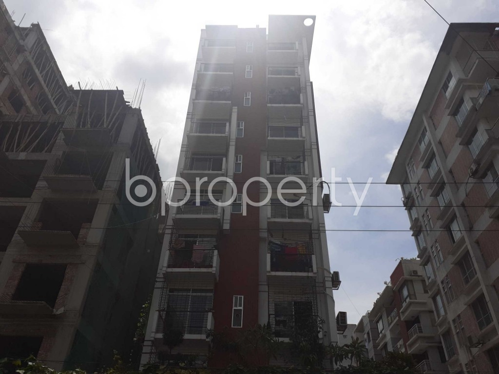 Front view - 4 Bed Duplex for Sale in Bashundhara R-A, Dhaka - 1910936