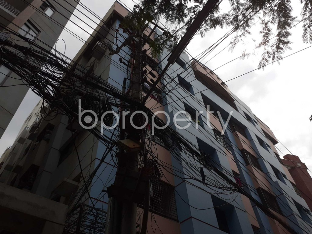 Outside view - 3 Bed Apartment to Rent in Gulshan, Dhaka - 1911002