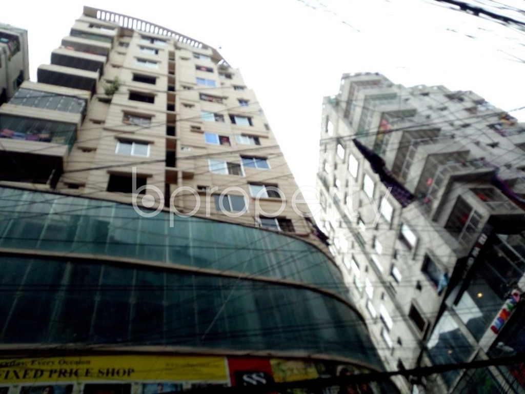 Front view - 3 Bed Apartment for Sale in Sutrapur, Dhaka - 1911008