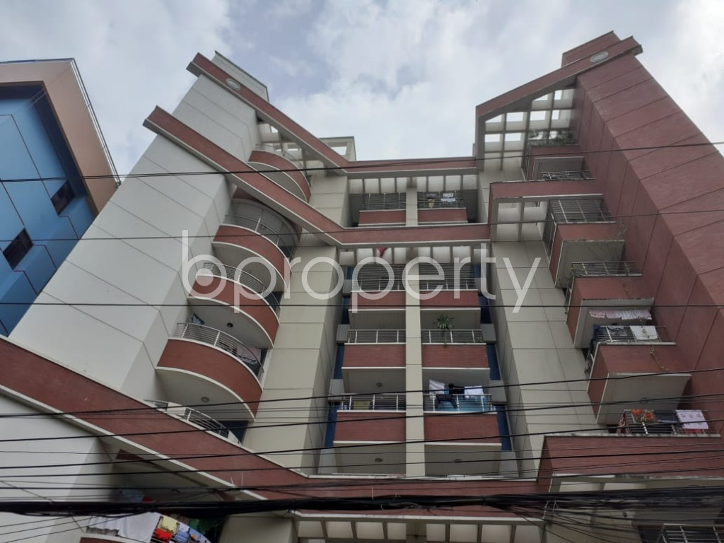 Front view - 3 Bed Apartment for Sale in Gulshan, Dhaka - 1911005