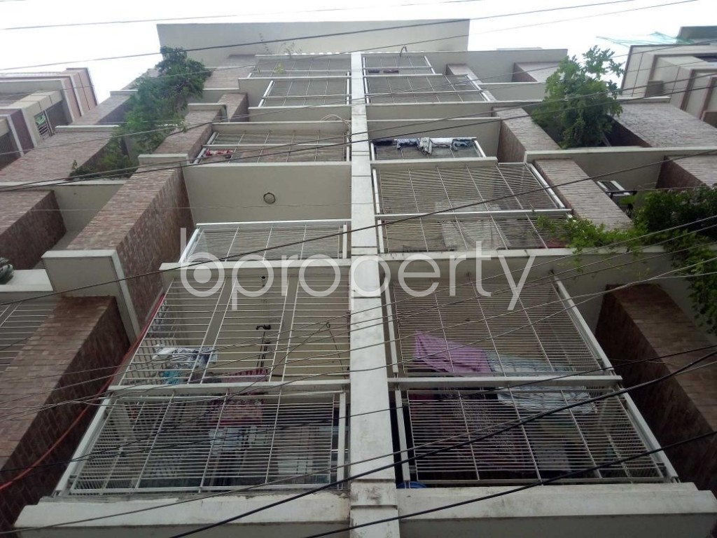 Front view - 3 Bed Apartment for Sale in Uttara, Dhaka - 1911088
