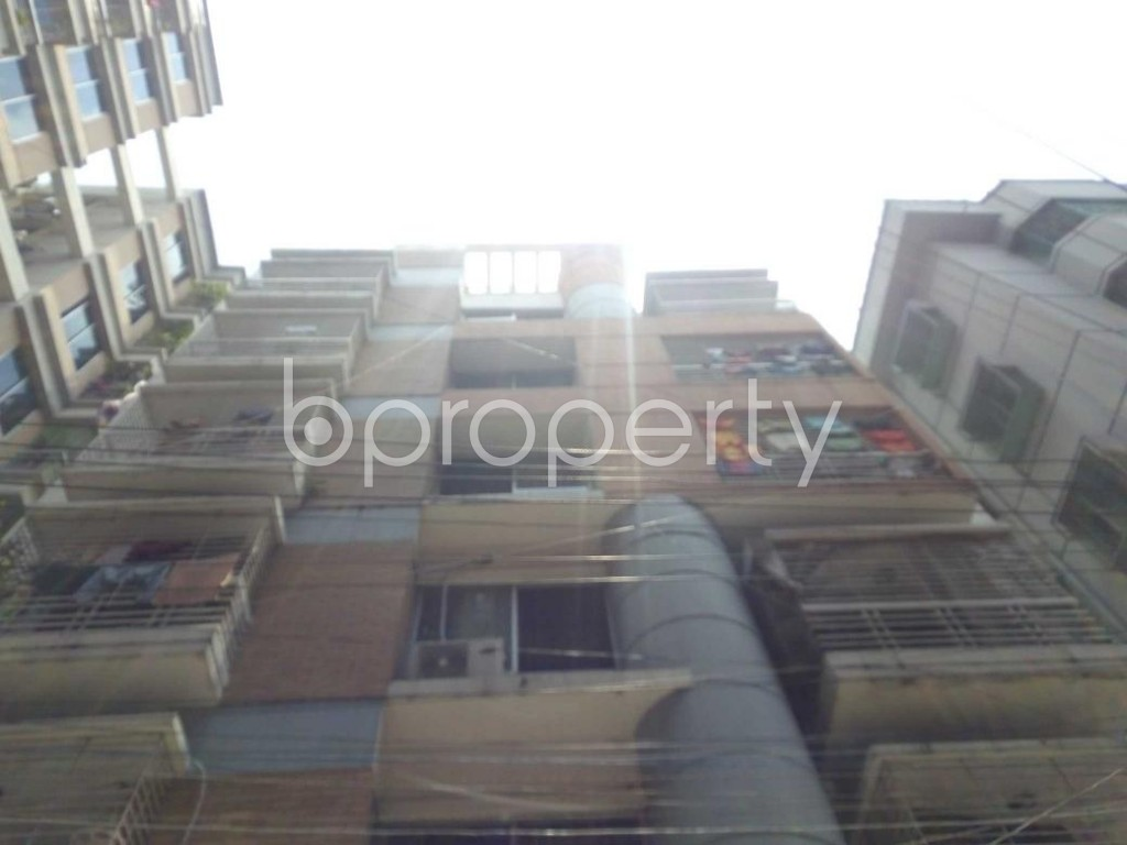 Front view - 3 Bed Apartment for Sale in Sutrapur, Dhaka - 1911345
