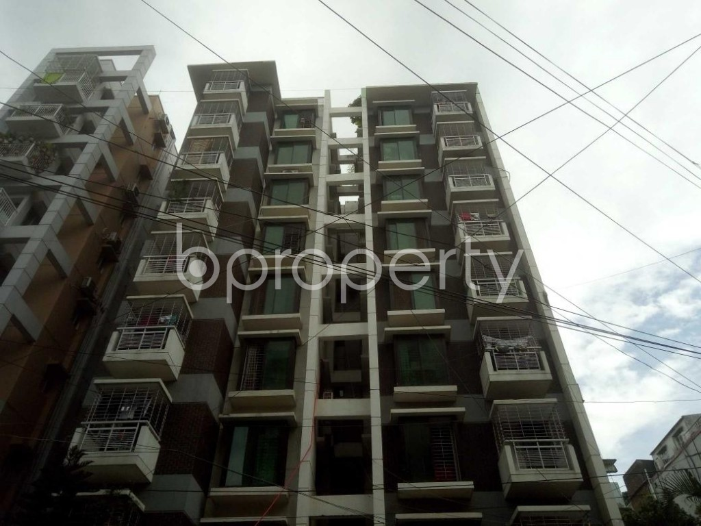 Front view - 3 Bed Apartment for Sale in Mirpur, Dhaka - 1911352