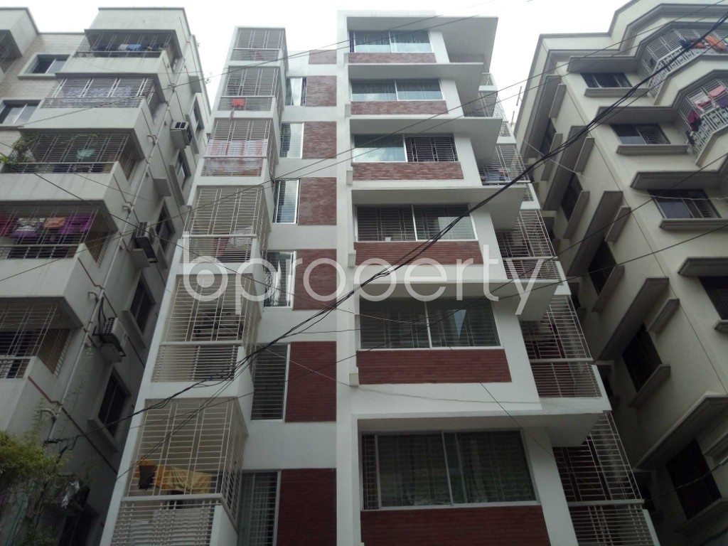 Front view - 3 Bed Apartment for Sale in Uttara, Dhaka - 1911357