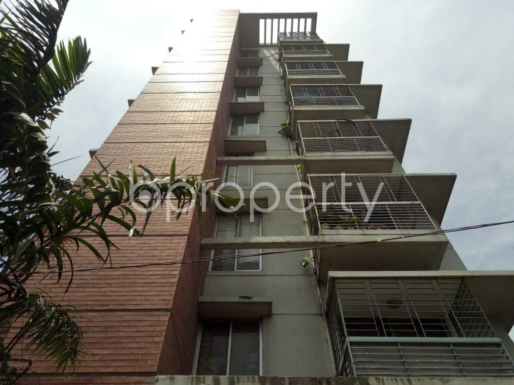 Front view - 3 Bed Apartment for Sale in Uttara, Dhaka - 1911371