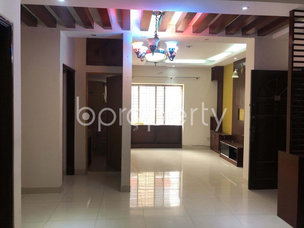 Dining area - 3 Bed Apartment for Sale in Uttara, Dhaka - 1909059