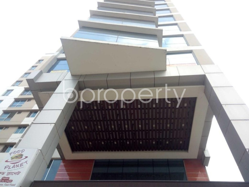 Front view - Shop to Rent in Badda, Dhaka - 1911486