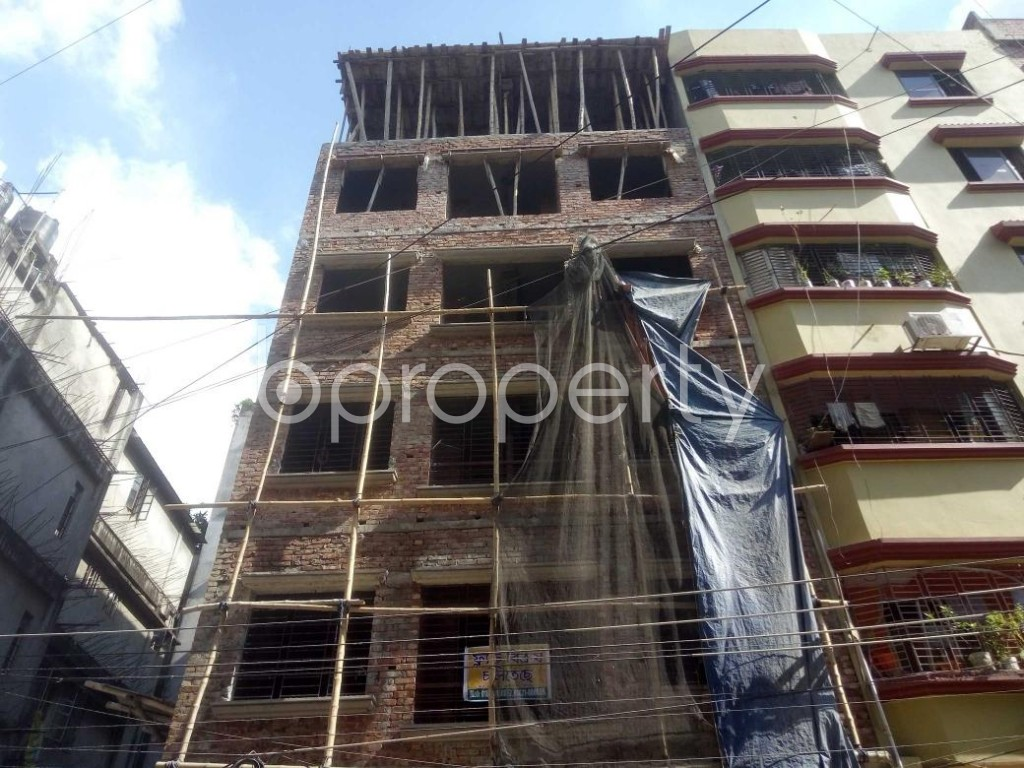 Front view - 4 Bed Apartment for Sale in Mirpur, Dhaka - 1911512