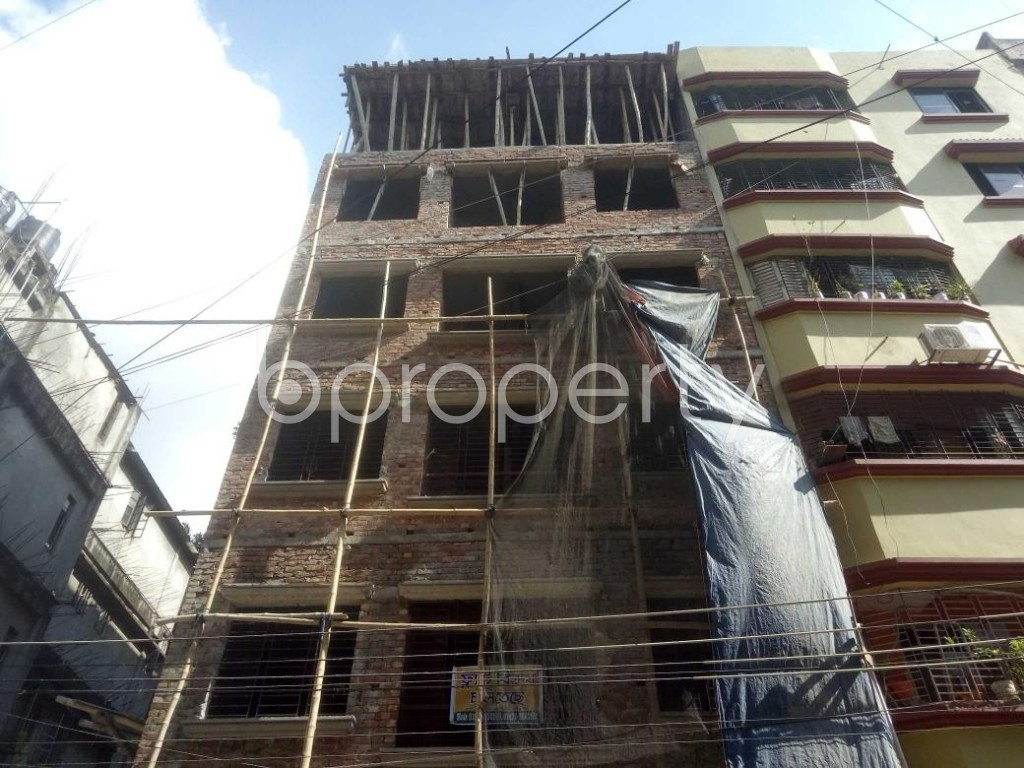 Front view - 4 Bed Apartment for Sale in Mirpur, Dhaka - 1911513