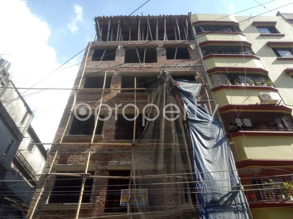 Front view - 4 Bed Apartment for Sale in Mirpur, Dhaka - 1911514