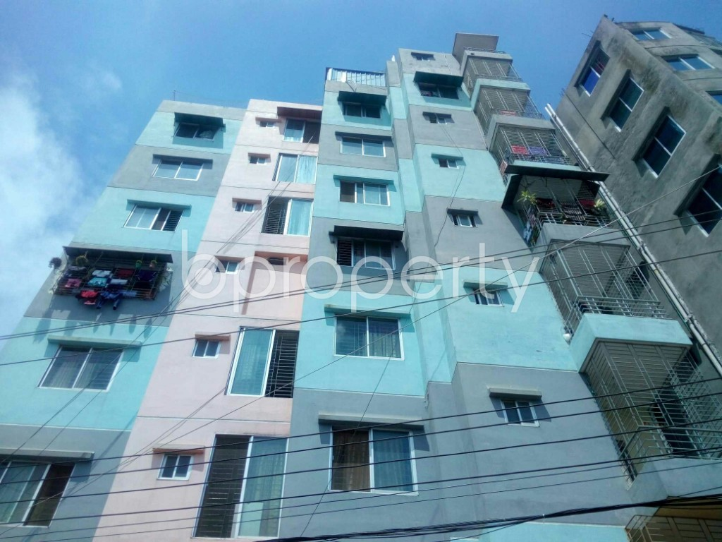 Front view - 4 Bed Apartment for Sale in Turag, Dhaka - 1911578