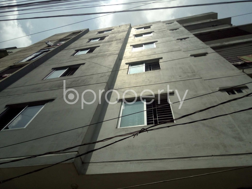 Outside view - Shop to Rent in Joar Sahara, Dhaka - 1911596
