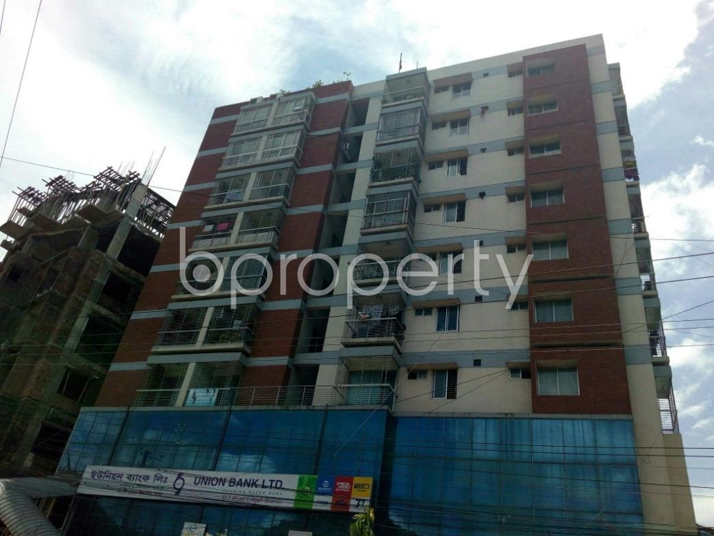 Front view - 3 Bed Apartment for Sale in Double Mooring, Chattogram - 1911687