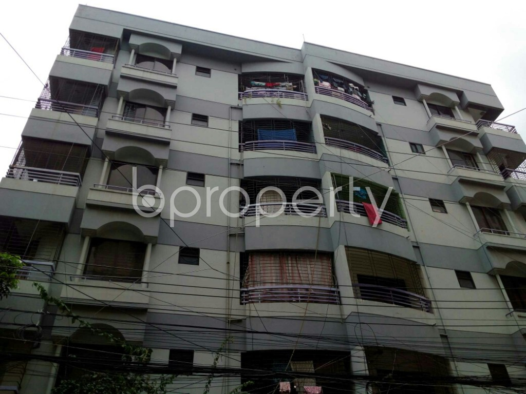 Outside view - 3 Bed Apartment to Rent in Dhanmondi, Dhaka - 1911729