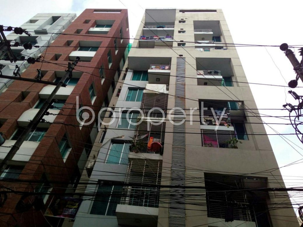 Front view - 3 Bed Apartment for Sale in Dhanmondi, Dhaka - 1911731