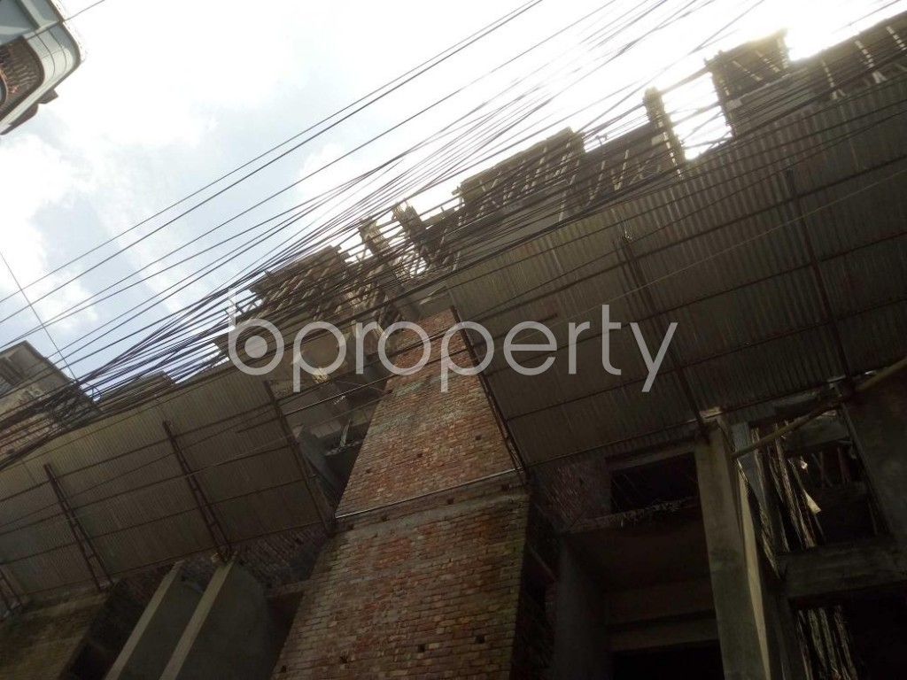Front view - 3 Bed Apartment for Sale in Mirpur, Dhaka - 1911781