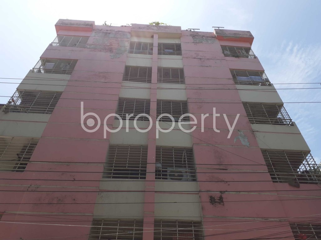 Front view - 3 Bed Apartment for Sale in Mirpur, Dhaka - 1911794