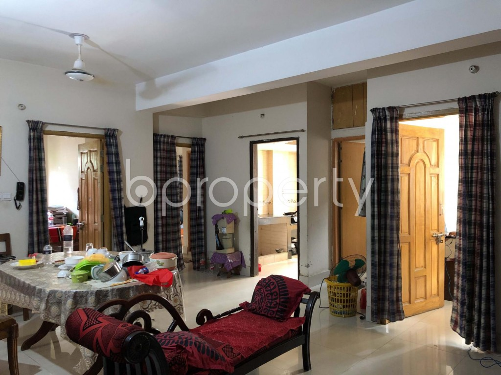 Dining area - 3 Bed Apartment for Sale in Mohammadpur, Dhaka - 1904749