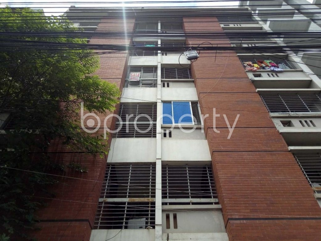 Front view - 3 Bed Apartment for Sale in Uttara, Dhaka - 1911823