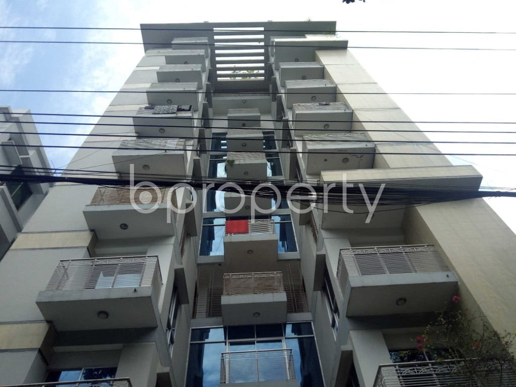 Front view - 4 Bed Apartment for Sale in Uttara, Dhaka - 1911833