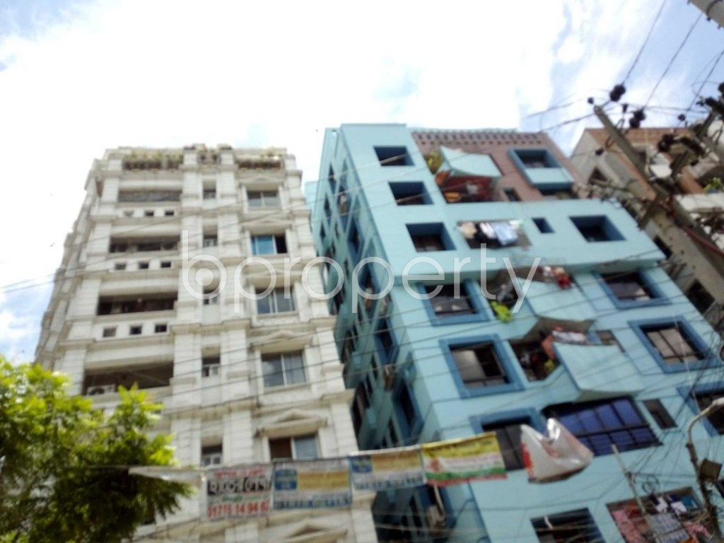 Front view - 3 Bed Apartment for Sale in Sutrapur, Dhaka - 1911837