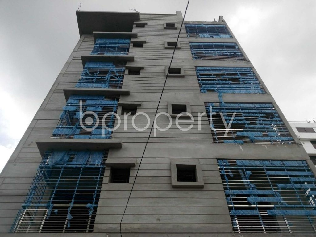 Front view - 2 Bed Apartment for Sale in Aftab Nagar, Dhaka - 1911839